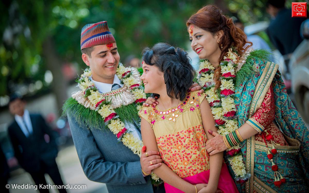 Bride: Dr. Sadikshya Adhikari & Groom: Ashutosh Pant_2017