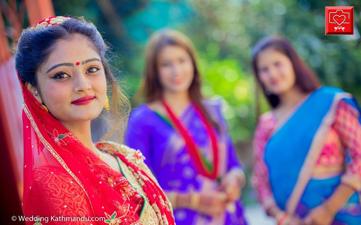 Binod wed Puja 2017