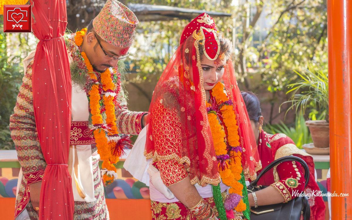 Nisha Khanal Wed Chandra RajJoshi