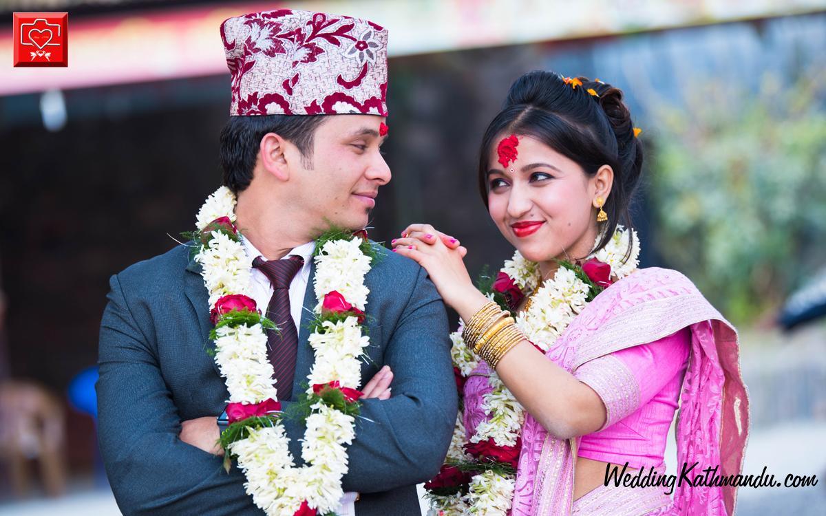 Bride Yojana Devkota Groom Suraj Gautam