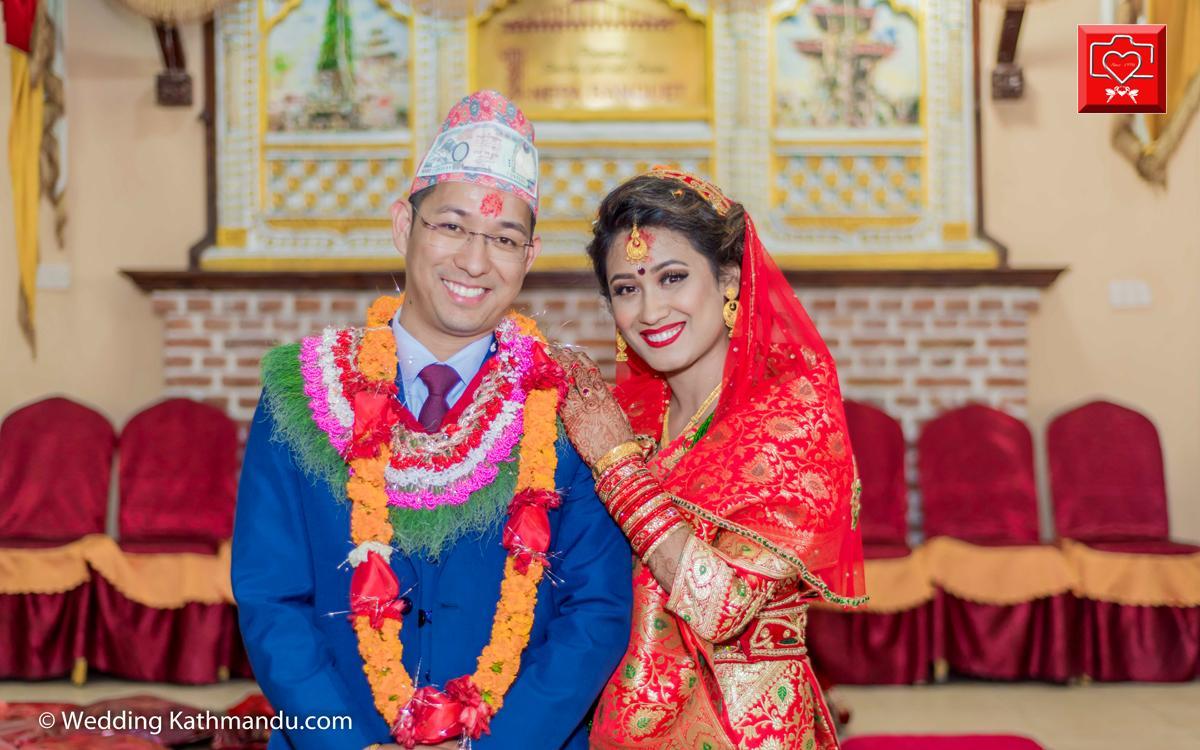 Sunita Shrestha Wed Man Lama 2017